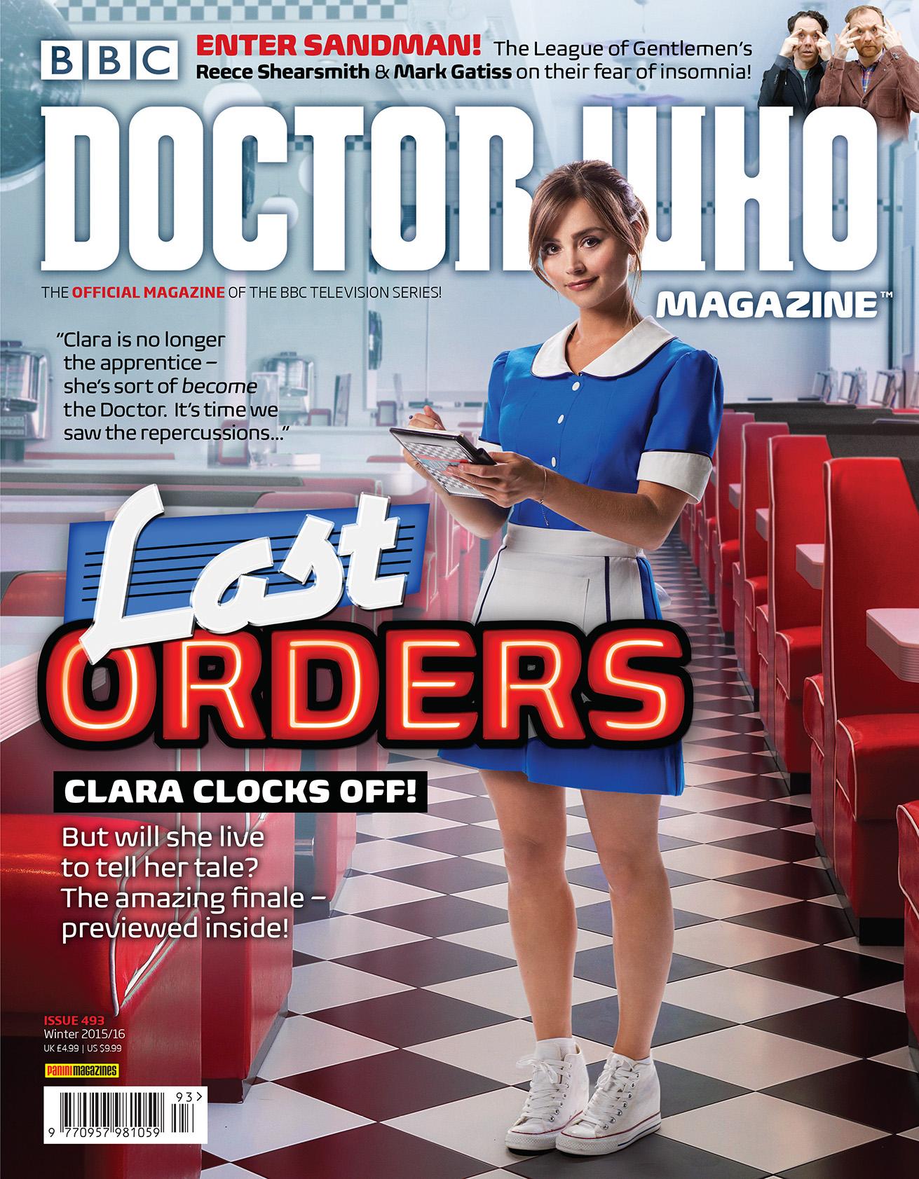 Doctor Who Magazine 492 (Credit: Doctor Who Magazine)