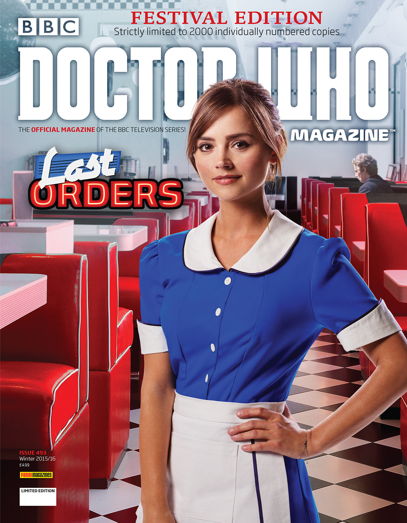 Doctor Who Magazine 492 (Festival edition) (Credit: Doctor Who Magazine)