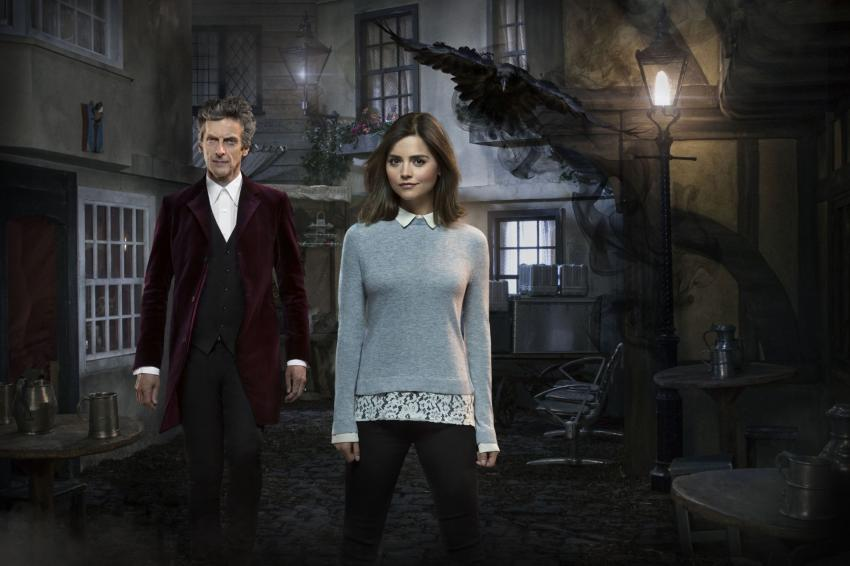 Face The Raven: The Doctor and Clara, as played by Peter Capaldi and Jenna Colman (Credit: BBC/Simon Ridgway)