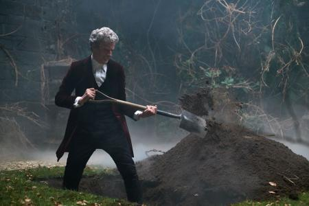 Heaven Sent: The Doctor, as played by Peter Capaldi (Credit: BBC/Simon Ridgway)