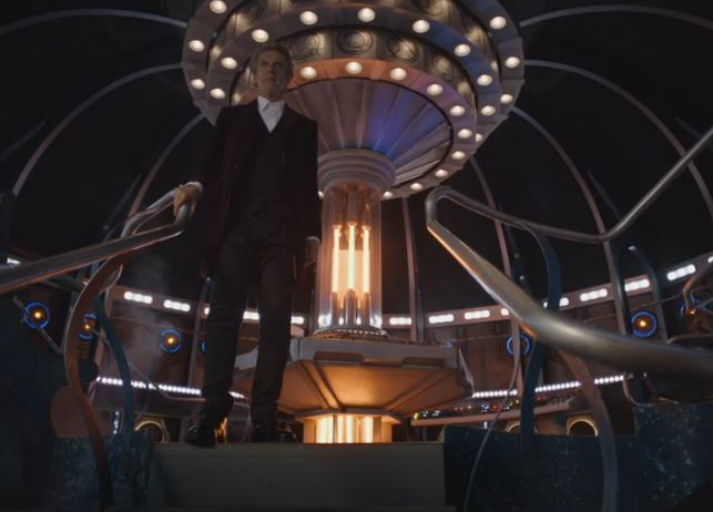 Heaven Sent: The Doctor in the TARDIS (Credit: BBC)