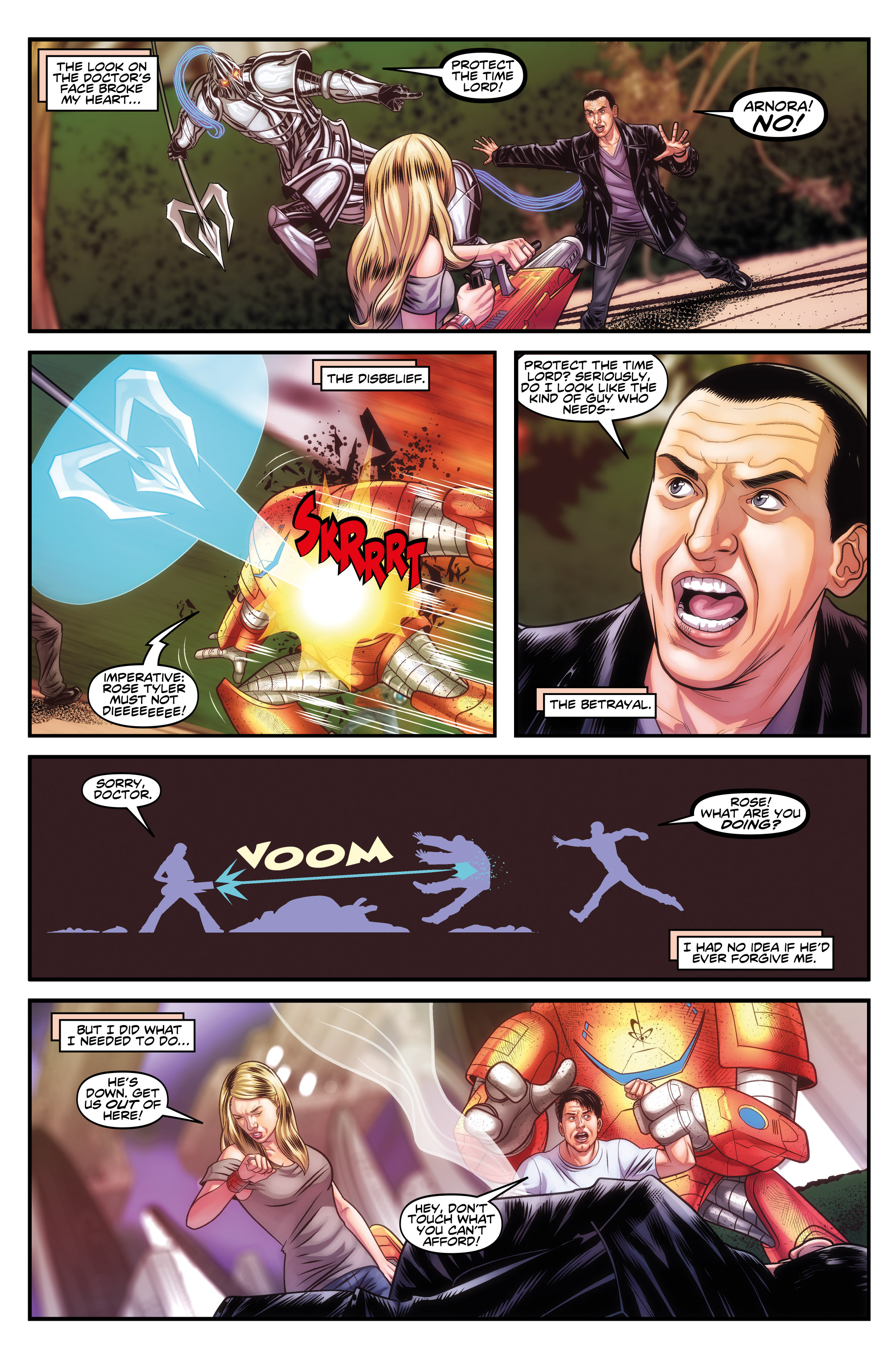 DOCTOR WHO: THE NINTH DOCTOR MINISERIES #5 (Credit: Titan)