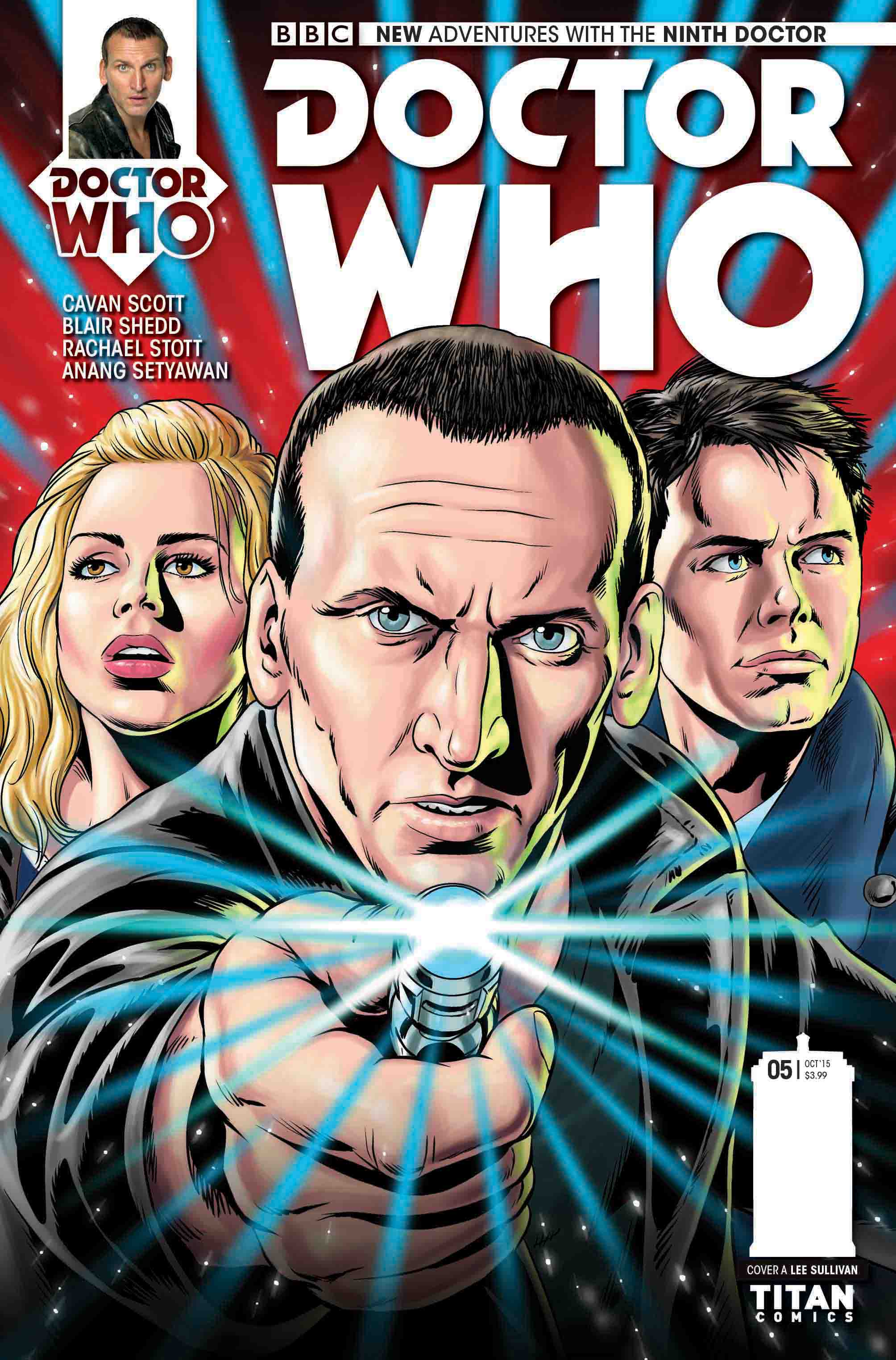 DOCTOR WHO: THE NINTH DOCTOR MINISERIES #5 (Credit: Titan / Lee Sullivan)