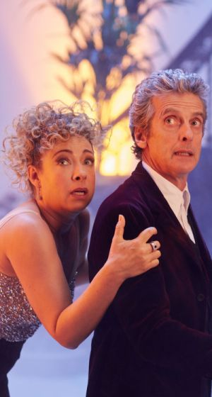 The Doctor and River Song (Credit: BBC/Simon Ridgway)