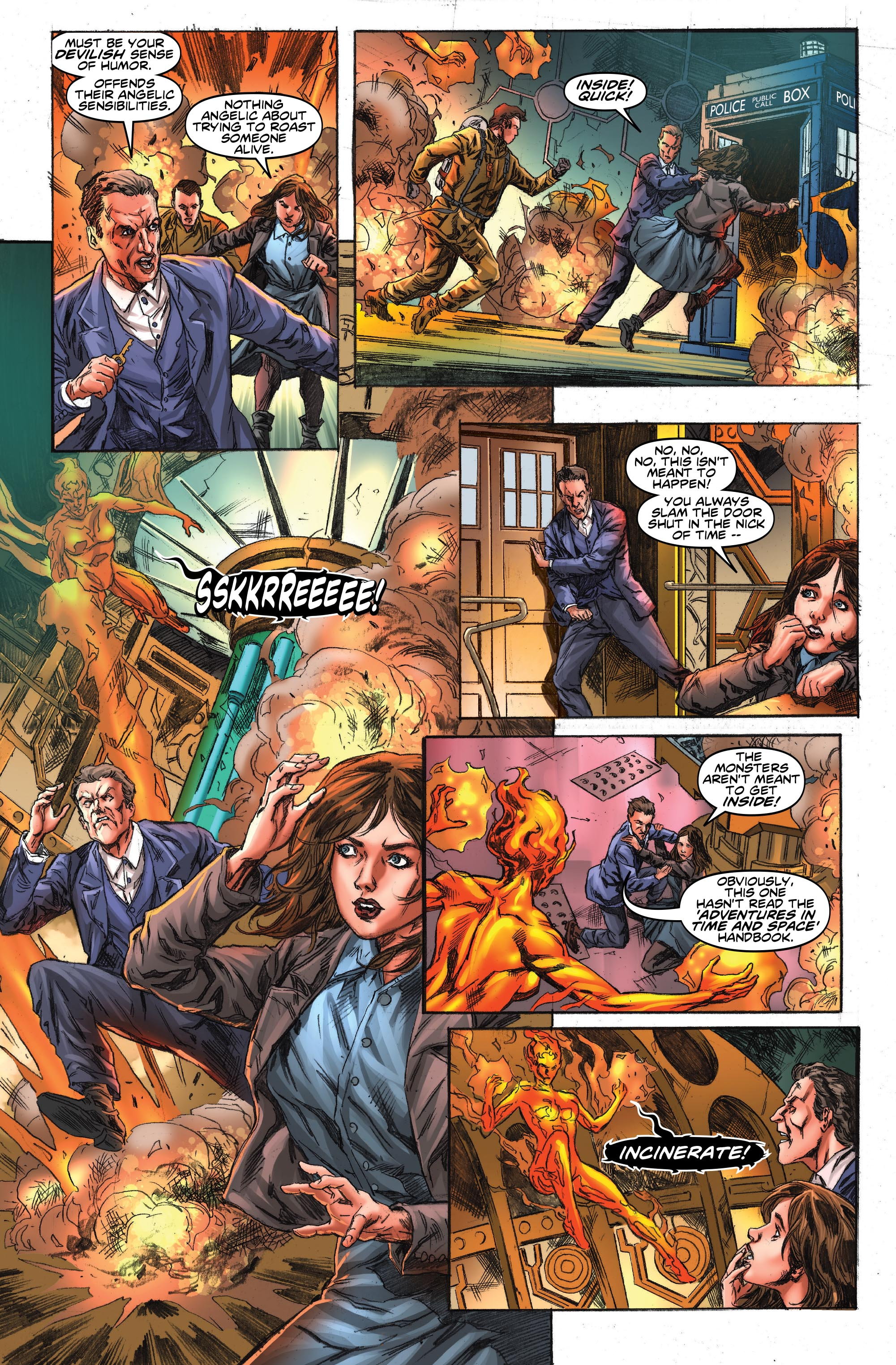 DOCTOR WHO: TWELFTH  #14 (Credit: Titan)