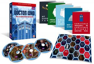 Doctor Who: The Ten Christmas Specials (Credit: BBC Worldwide)