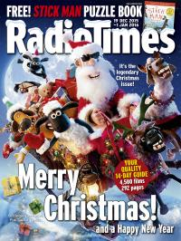 Radio Times Festive Double Issue (19 Dec 2015 - 2 Jan 2016) (Credit: Radio Times)