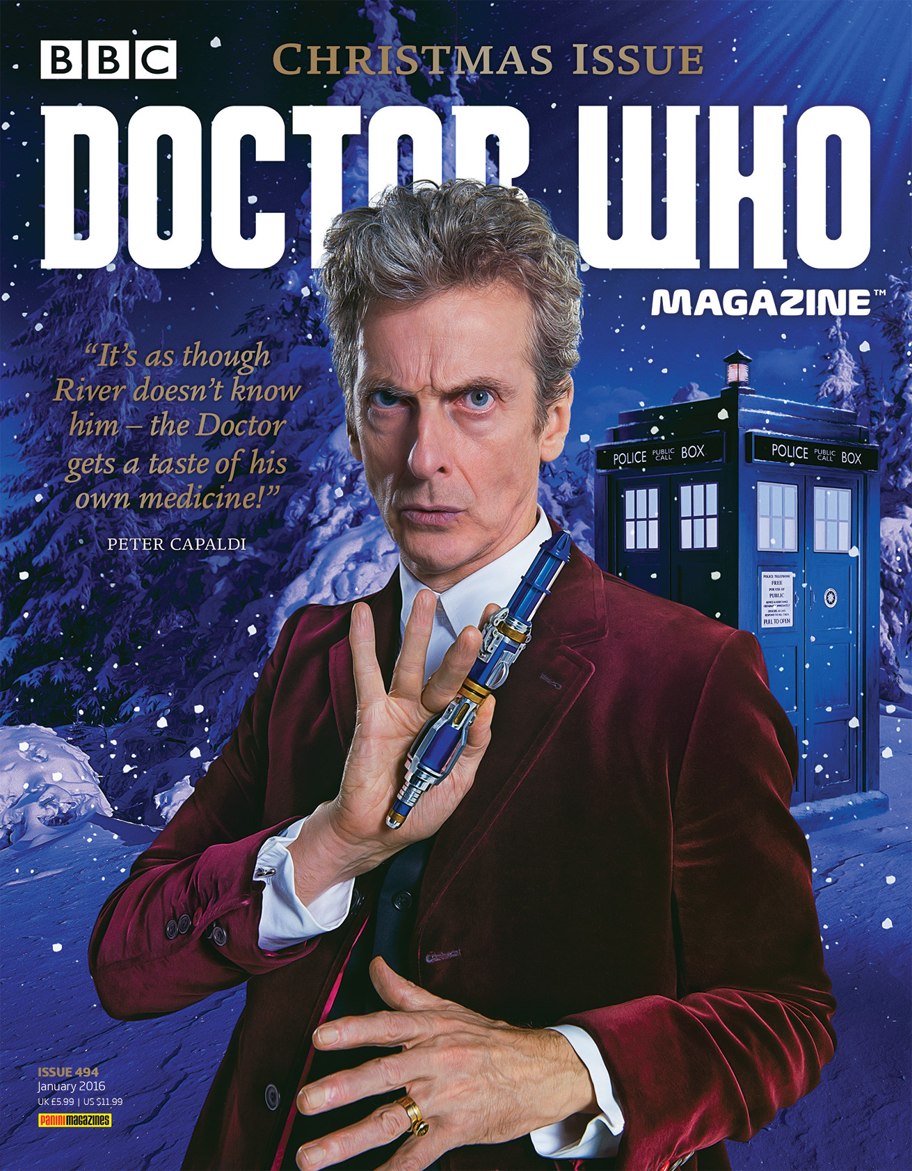 Doctor Who Magazine Issue 494 (Credit: Doctor Who Magazine)