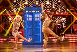 Strictly Come Dancing: Aliona Vilani, Jay McGuiness (Credit: BBC/Guy Levy)