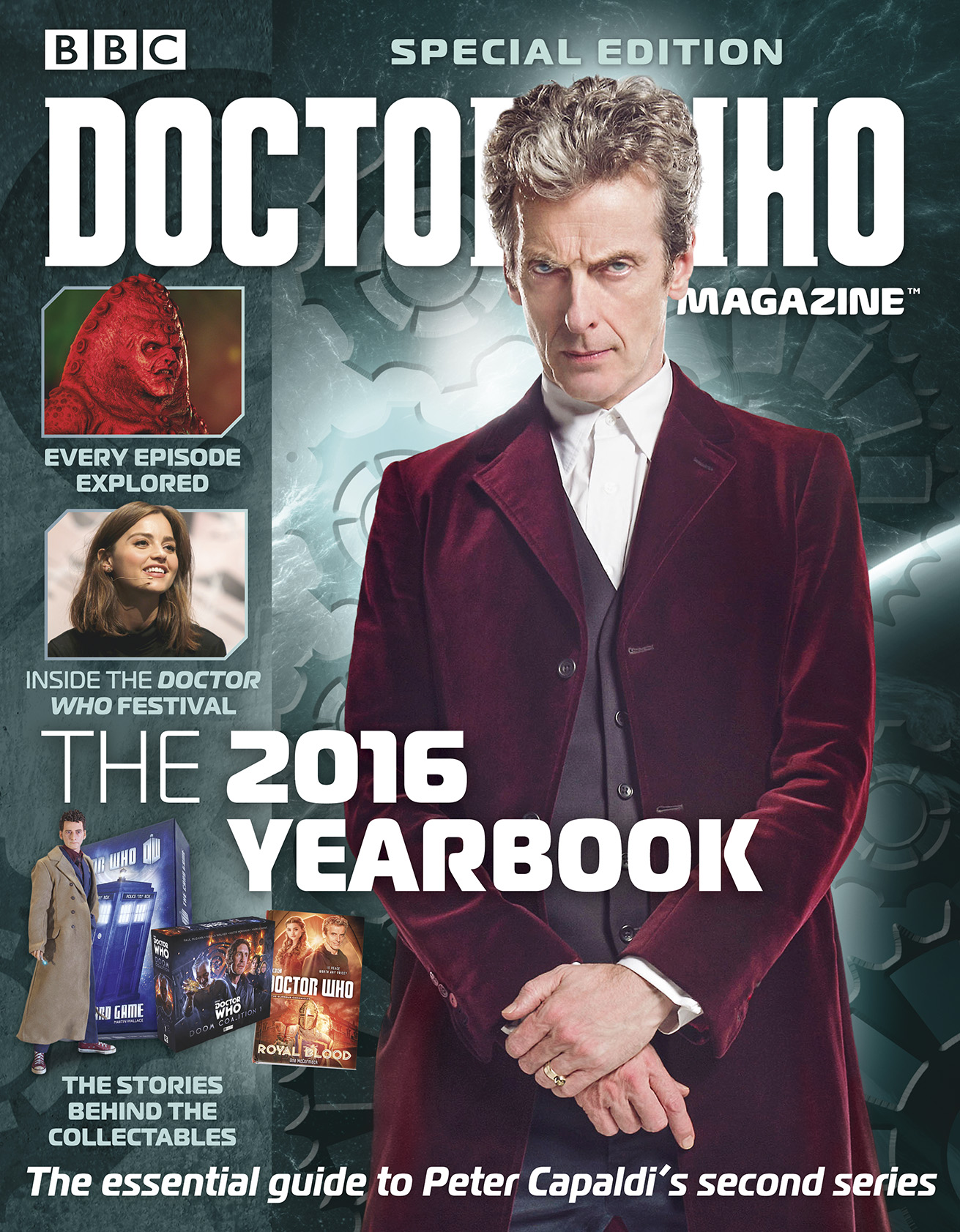 Doctor Who Magazine Yearbook 2016  (Credit: Panini )