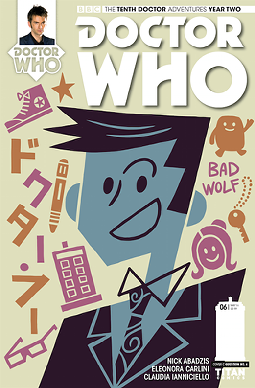 Titan Comics: The Tenth Doctor #2.6 (Doctor No. 6 variant cover) (Credit: Titan/Doctor No. 6)