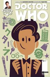 Titan Comics: The Eleventh Doctor #2.6 (Doctor No. 6 variant cover) (Credit: Titan/Doctor No. 6)