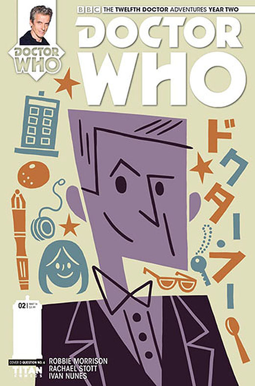 Titan Comics: The Twelfth Doctor #2.2 (Doctor No. 6 variant cover) (Credit: Titan/Doctor No. 6)