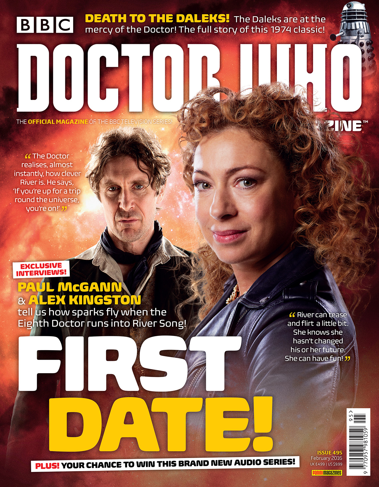 Doctor Who Magazine 495 (Credit: Panini)
