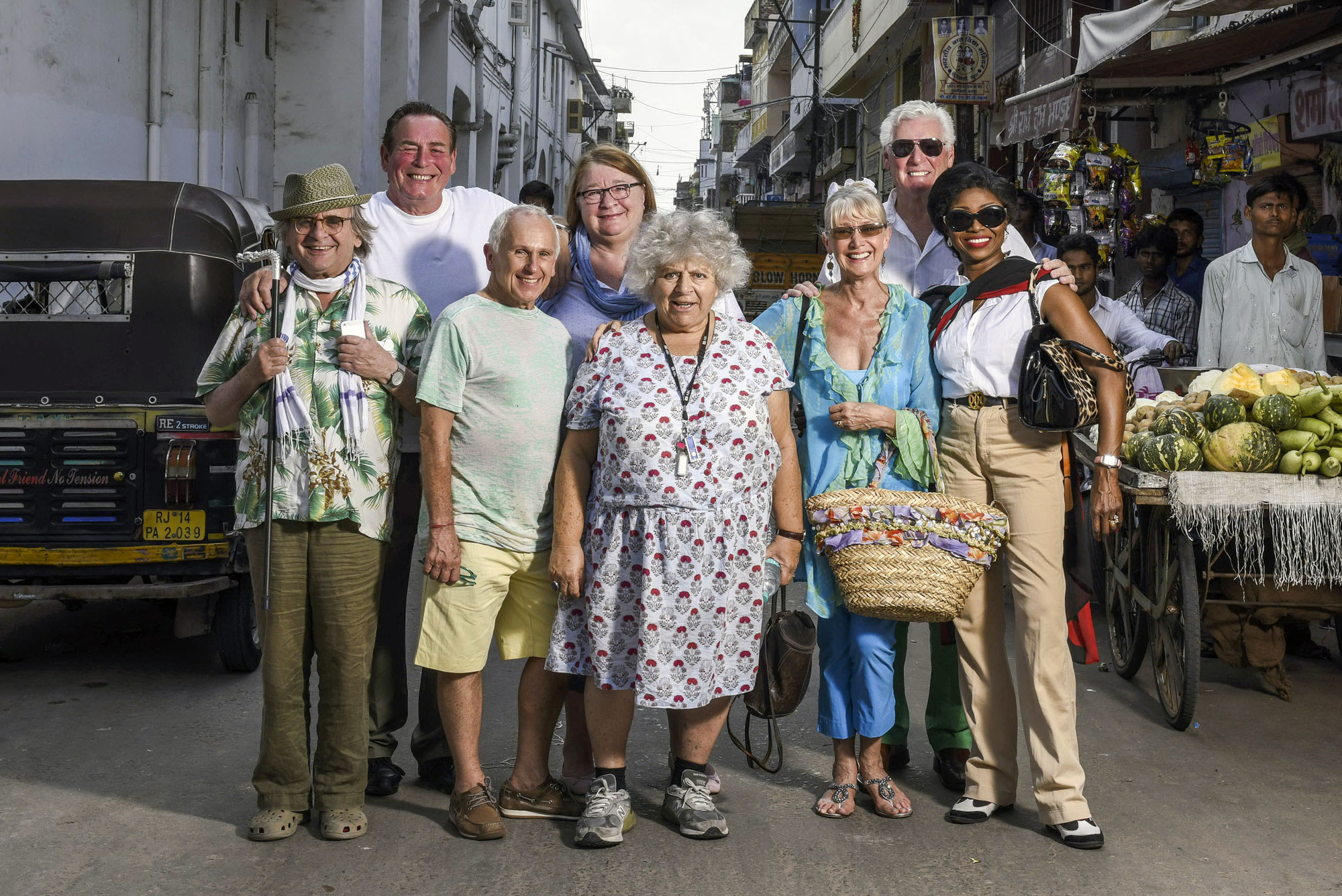 The Real Marigold Hotel (Credit: BBC/Vinod Singh/Twofour)