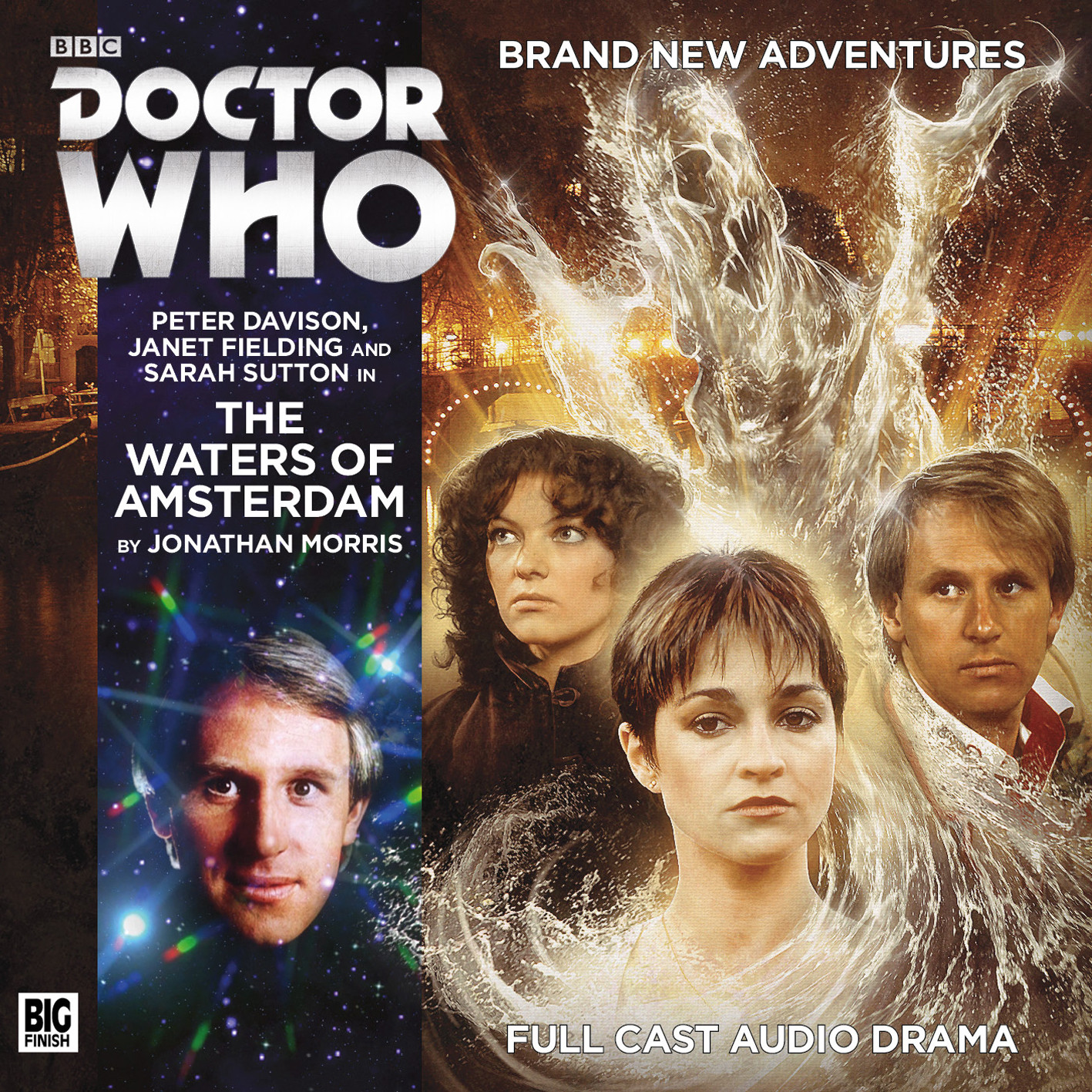 Waters of Amsterdam (Credit: Big Finish)