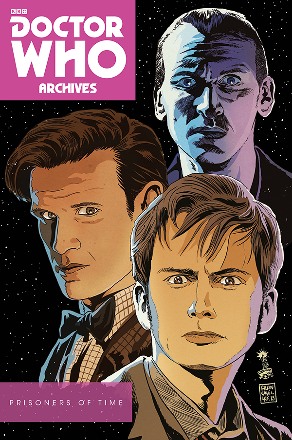 DOCTOR WHO: PRISONERS OF TIME OMNIBUS (Credit: Titan)