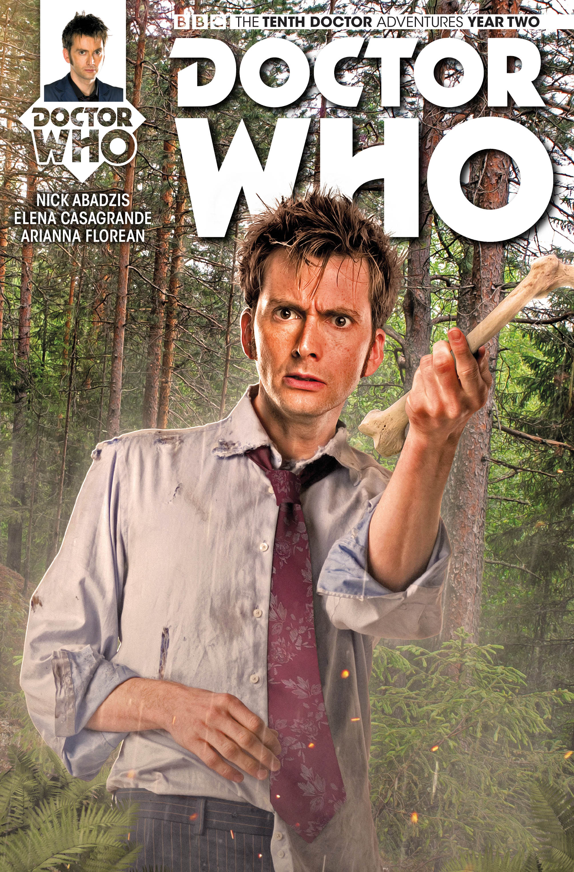 DOCTOR WHO: THE TENTH DOCTOR #2.5 (Credit: Titan)