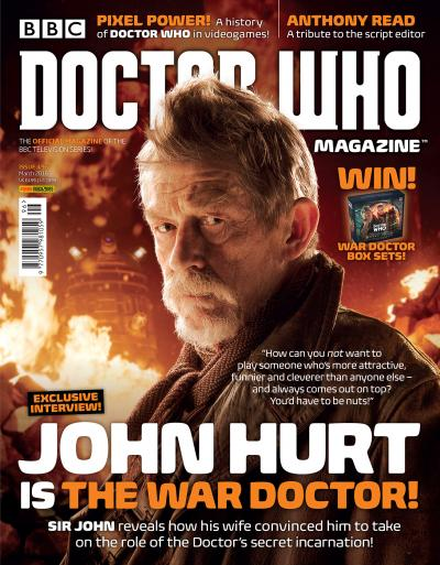 Doctor Who Magazine 496 (Credit: Panini)
