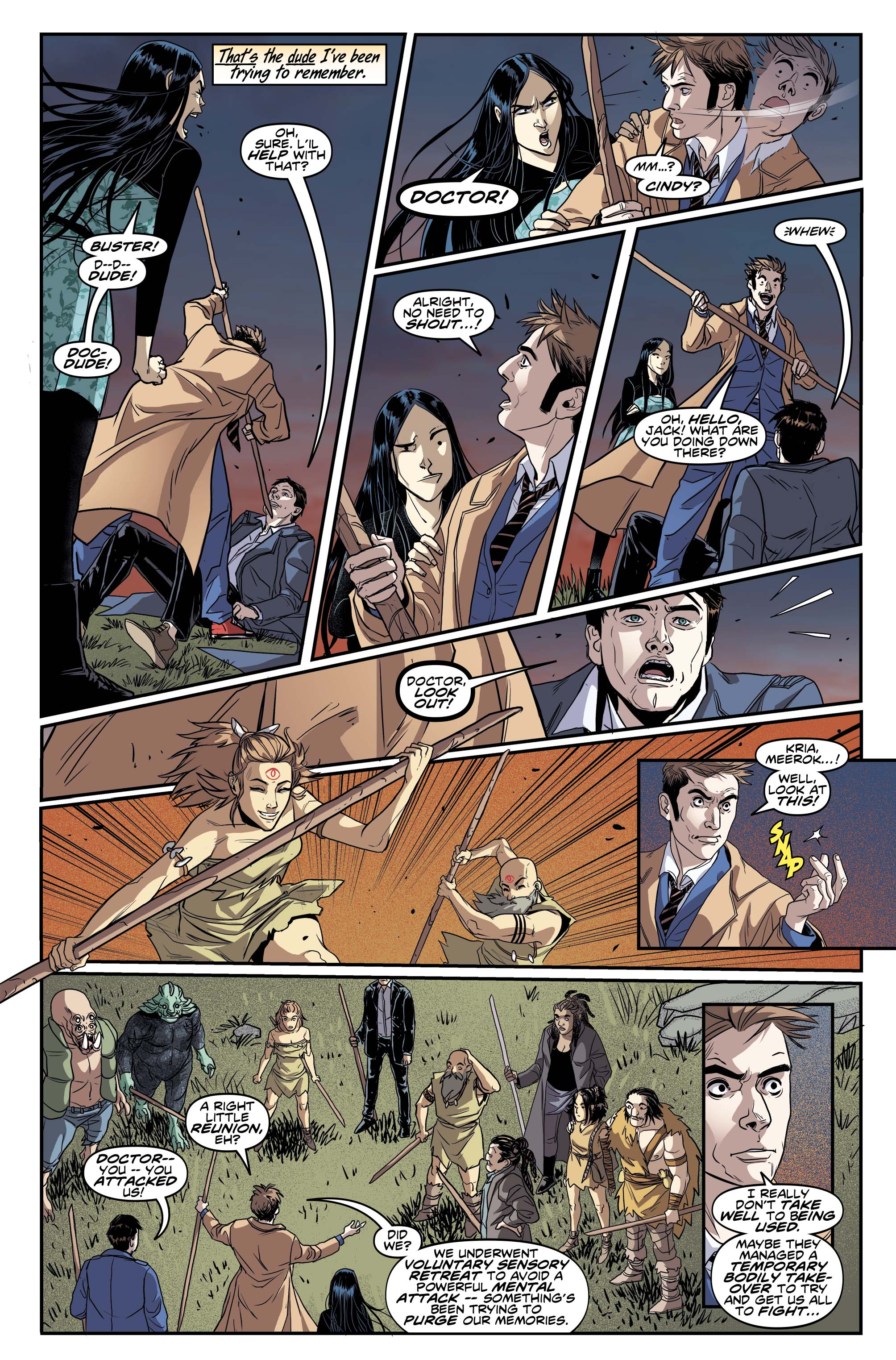 DOCTOR WHO: THE TENTH DOCTOR #2.6 (Credit: Titan)