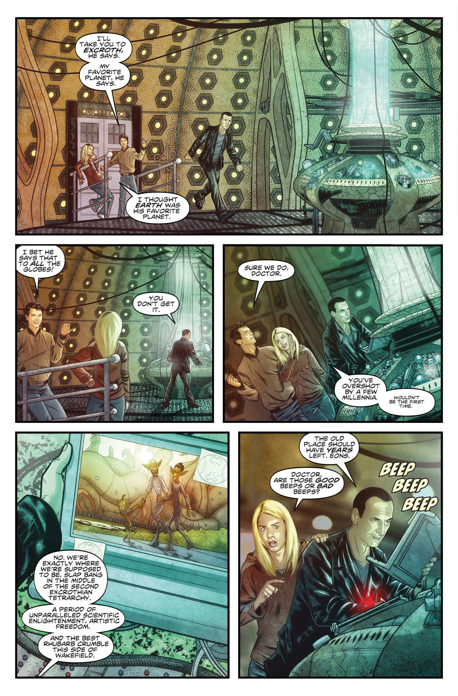 THE NINTH DOCTOR VOL. 1: WEAPONS OF PAST DESTRUCTION (Credit: Titan)