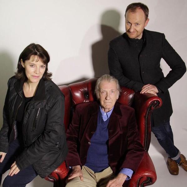 Lisa Bowerman, David Warner and Mark Gatiss (Credit: Big Finish)