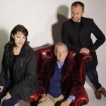 Lisa Bowerman, David Warner and Mark Gatiss (Credit: Big Finish)