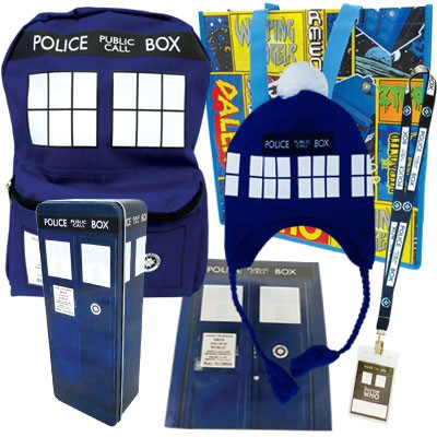 Doctor Who Showbag (Credit: Bensons Trading)