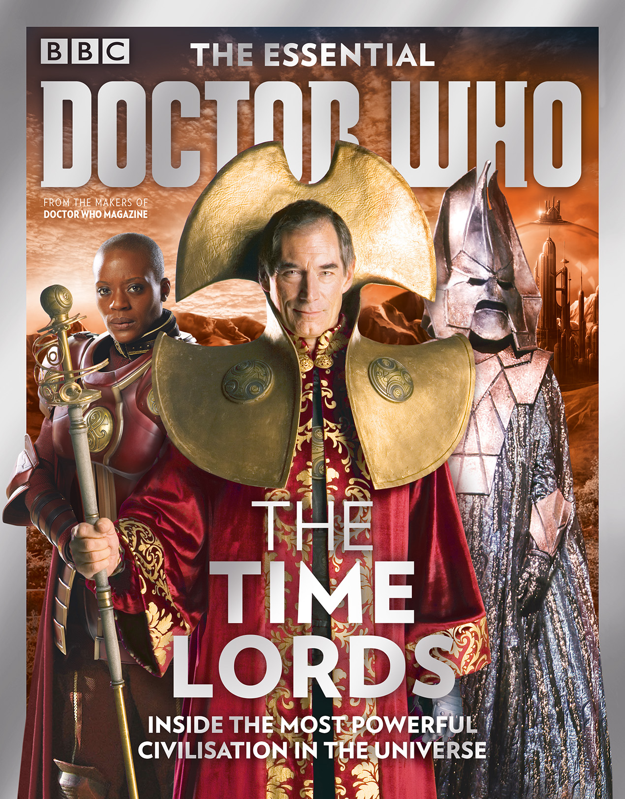 THE ESSENTIAL DOCTOR WHO #7: TIME LORDS (Credit: Panini)