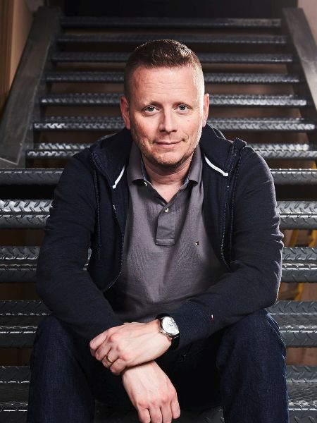 Patrick Ness - Image Credit: BBC/Ray Burmiston
