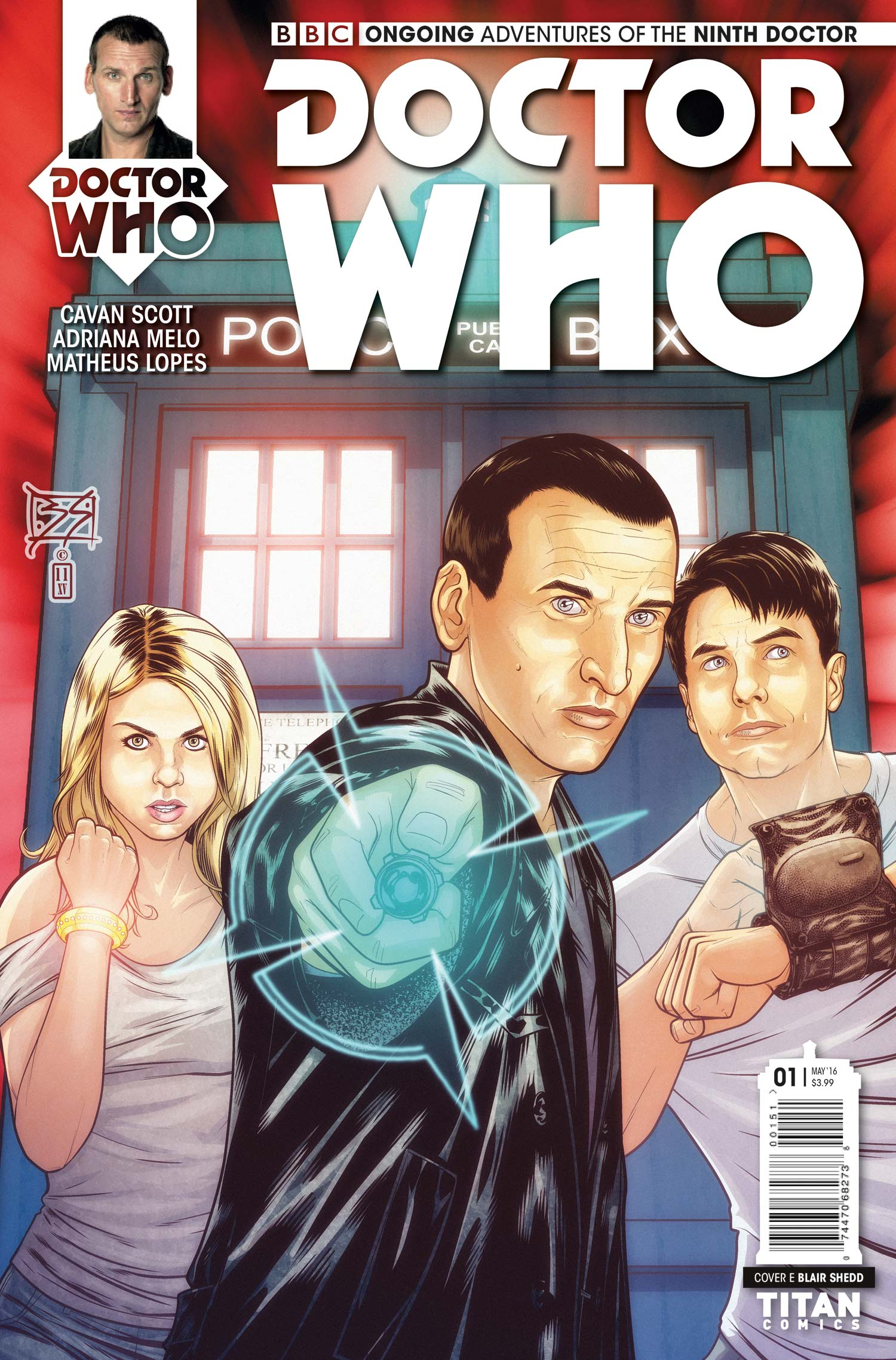 Doctor Who: Ninth Doctor  #1  (Credit: Titan)