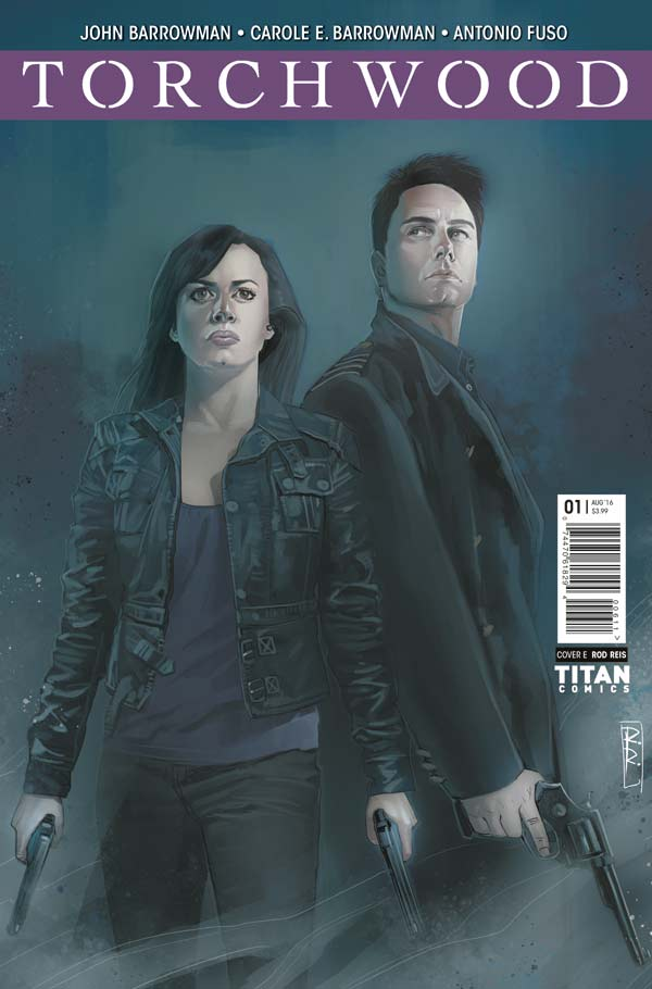 Torchwood #1 - Cover E: Rod Reis