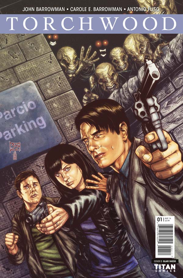 Torchwood #1 - Cover D: Blair Shedd