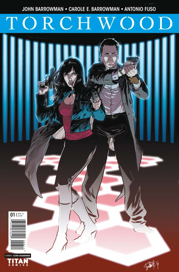 Torchwood #1 -  Cover C: Elena Casagrande