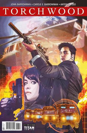 Torchwood #1 - Cover A: Tommy Lee Edwards (Credit: Titan)