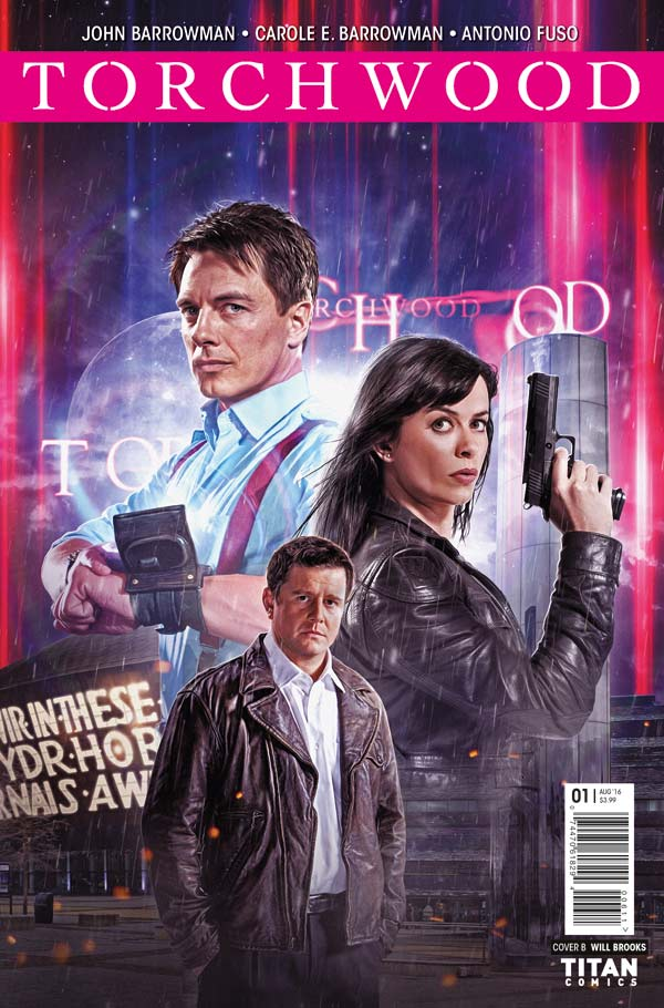 Torchwood #1 /  Cover B: Photo Variant