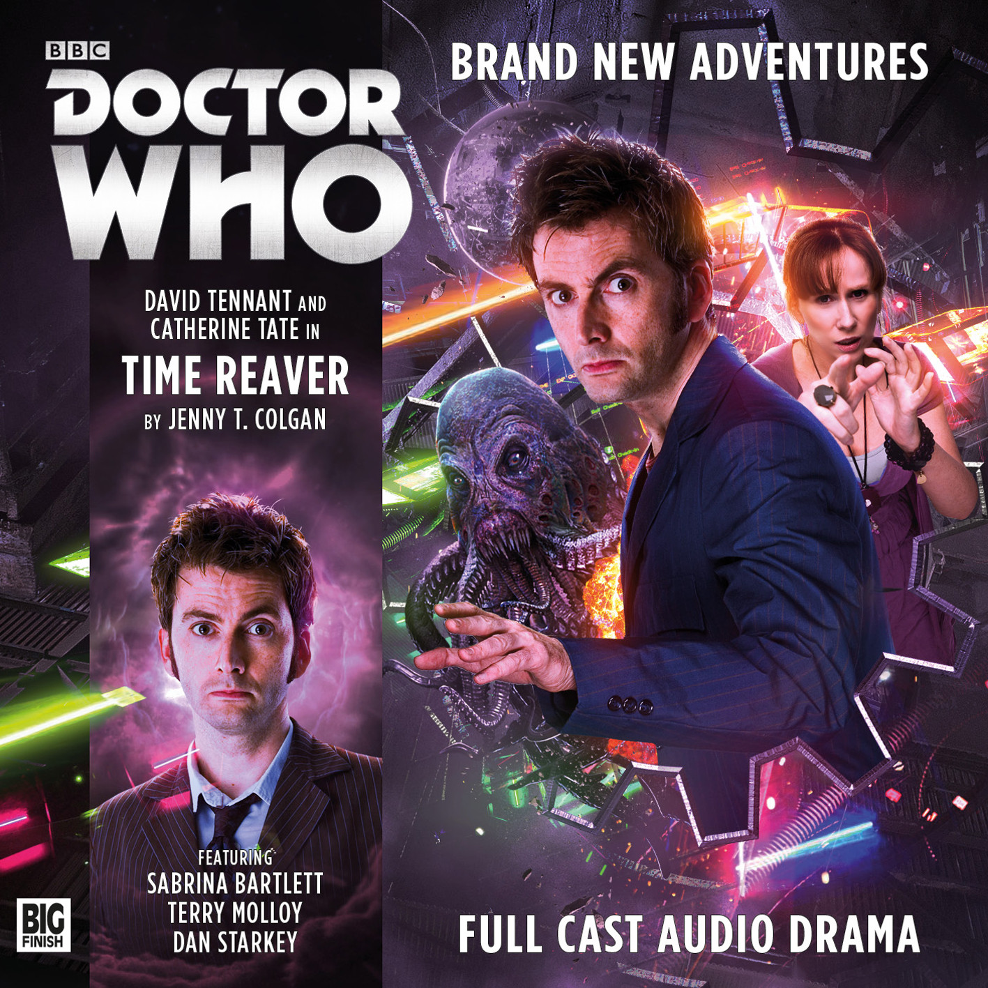 Time Reaver (Credit: Big Finish / Tom Webster)