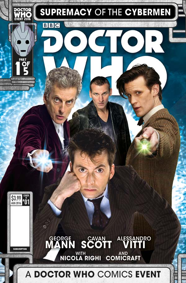 Summer Doctor Who Crossover event