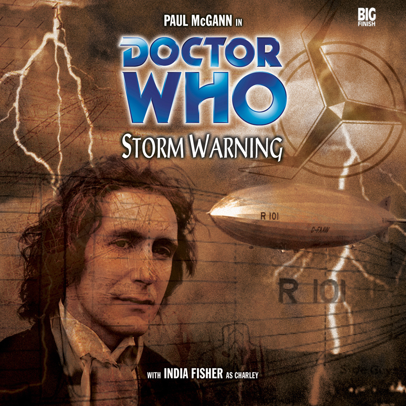 Storm Warning (Credit: Big Finish / Clayton Hickman)