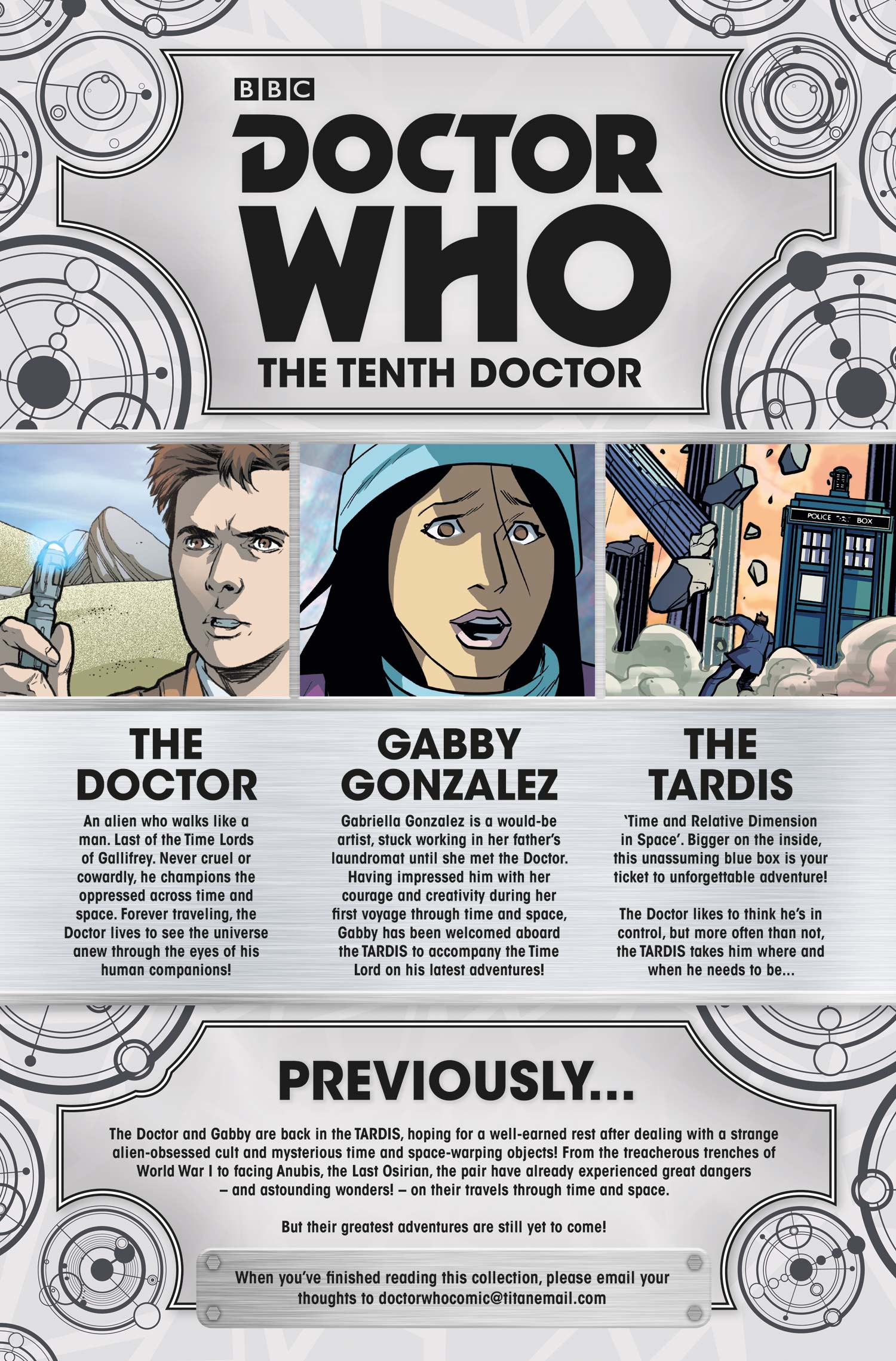 Doctor Who: Tenth Doctor Vol. 4: The Endless Song