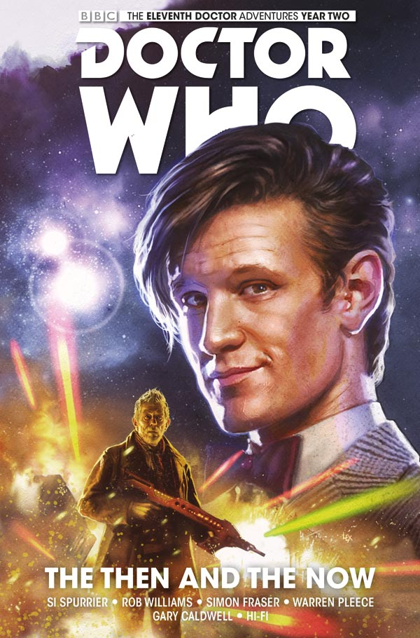 Doctor Who: Eleventh Doctor Vol. 4: The Then And The Now
