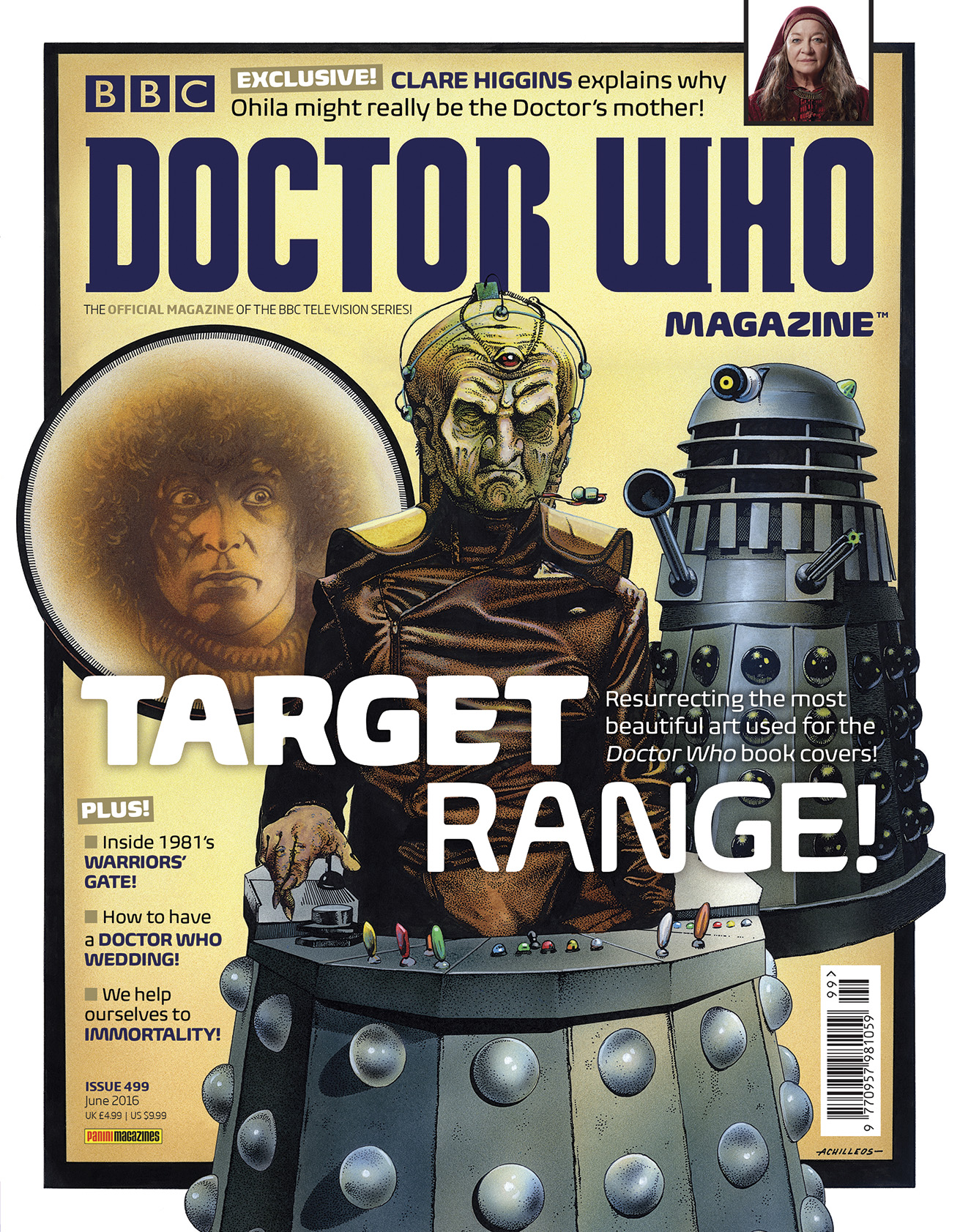 Doctor Who Magazine Issue 499 (Credit: DWM)