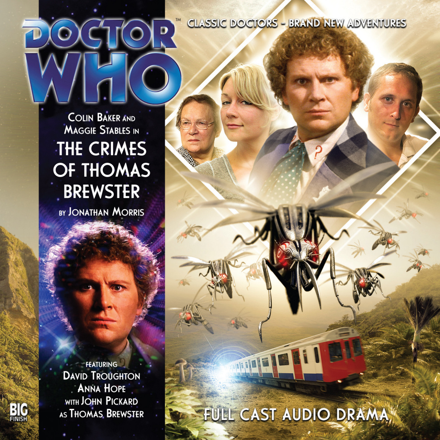 The Crimes of Thomas Brewster (Credit: Big Finish / Anthony Lamb)