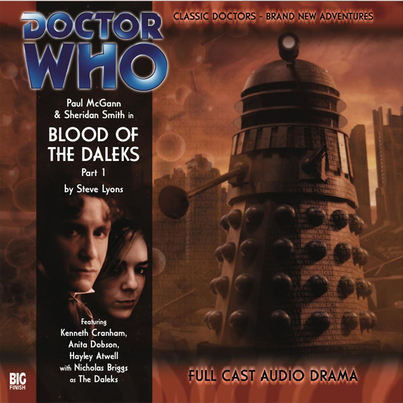 Blood of the Daleks (Credit: Big Finish / Alex Mallinson)