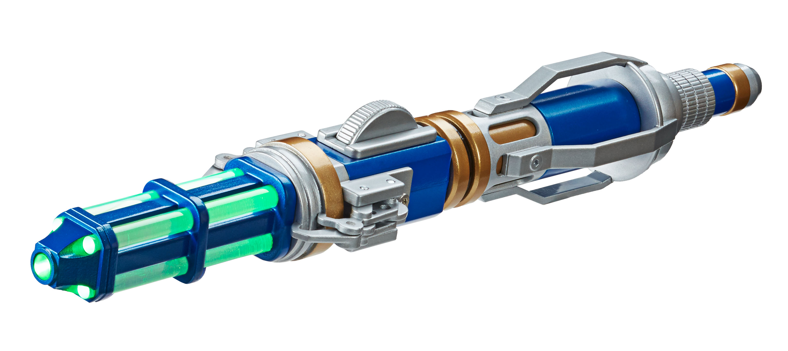 Series 9 Hell Bent Sonic Screwdriver: Green glow (Credit: Character)