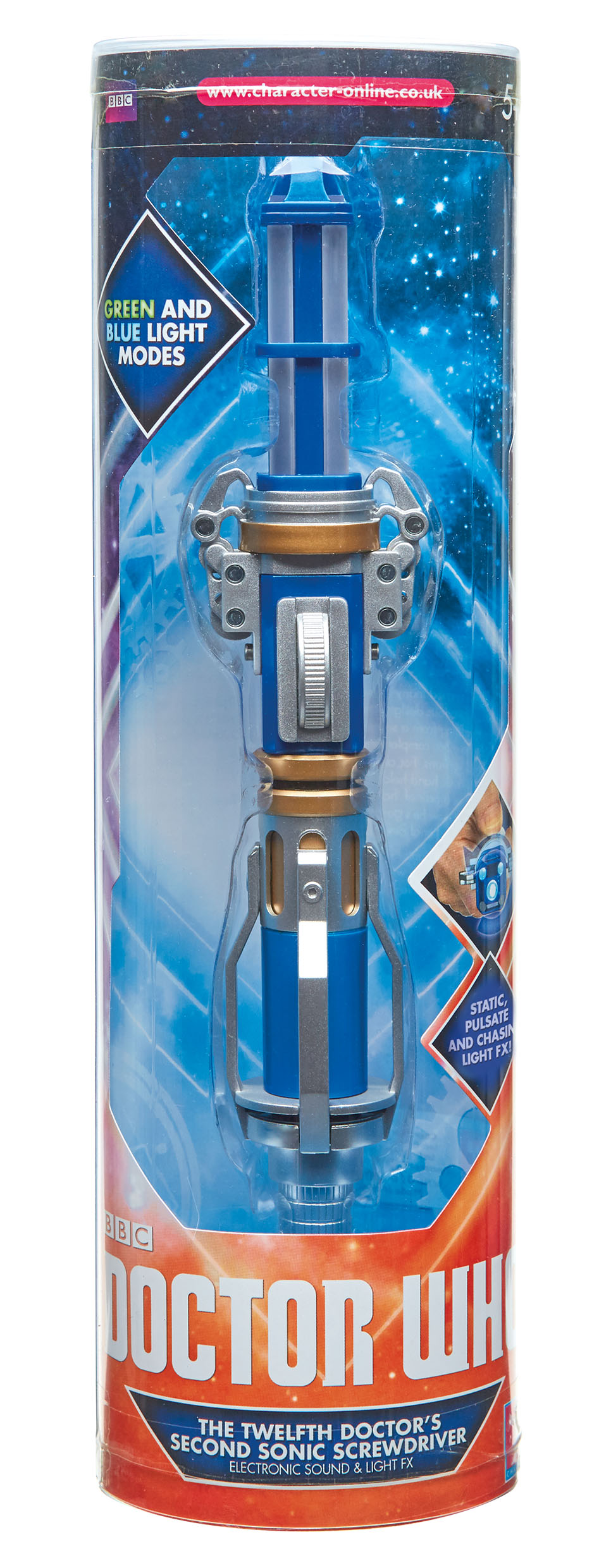 Character: Series 9 Hell Bent Sonic Screwdriver: pack (Credit: Character)