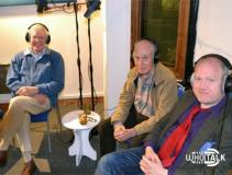 Who Talk: Day Of Armageddon recording (Peter Purves, David Graham, Toby Hadoke) (Credit: Fantom Publishing)
