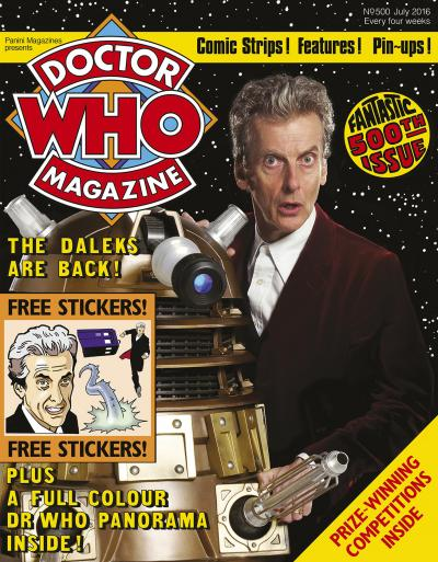 Doctor Who Magazine - 500 (Credit: Panini)