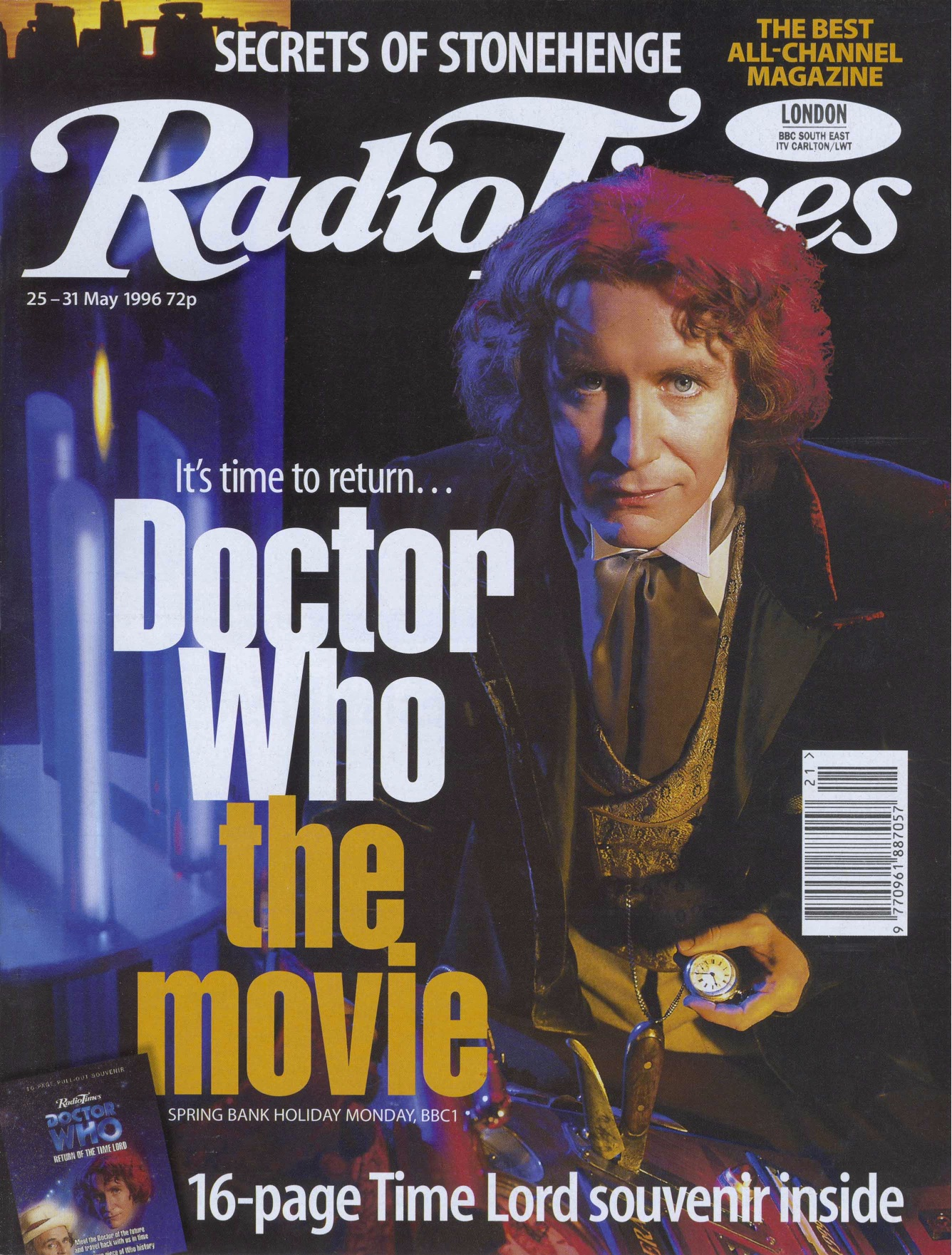 Radio Times (25-31 May 1996) (Credit: Radio Times)
