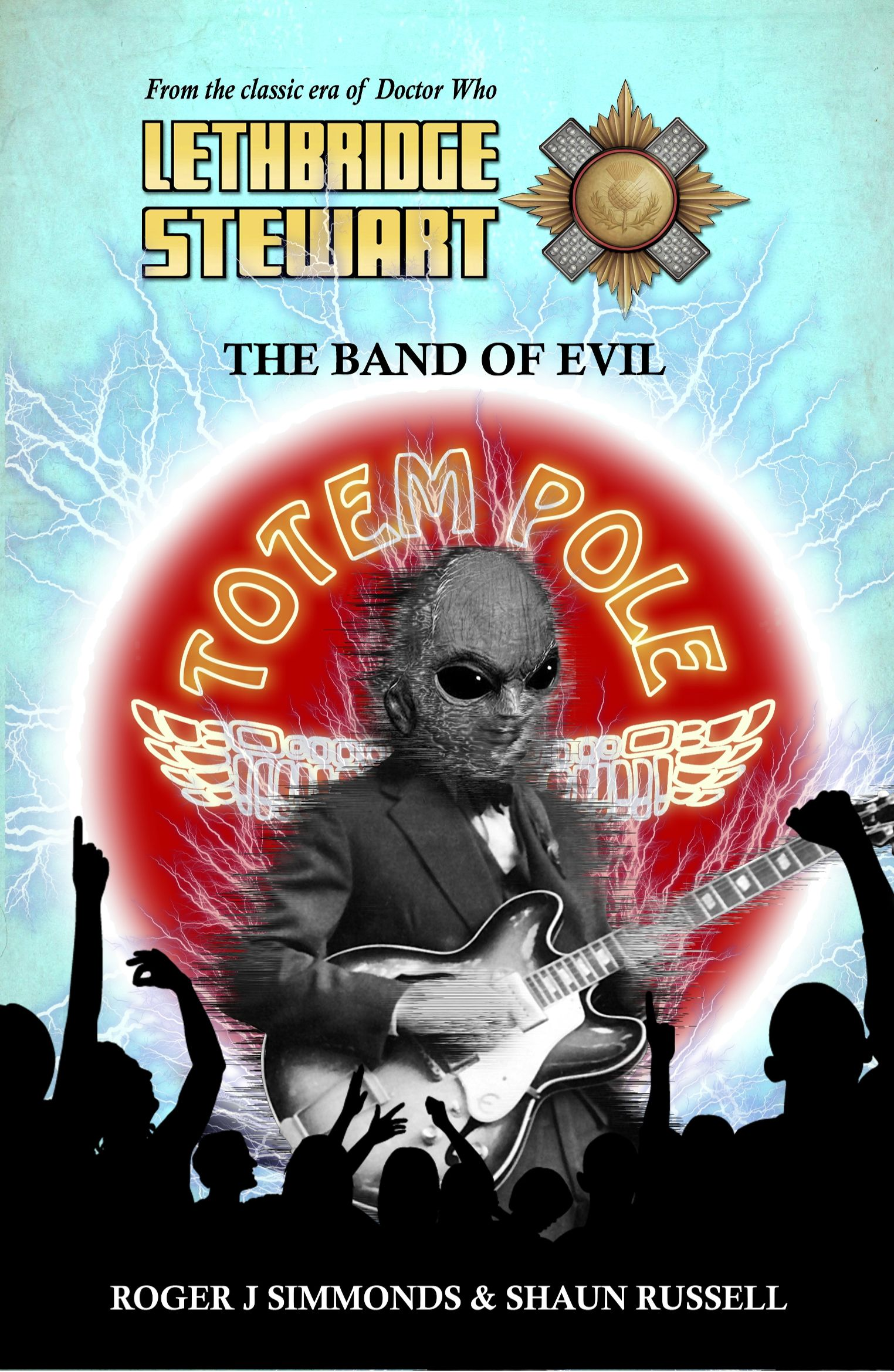 Lethbridge-Stewart: The Band Of Evil (Credit: Candy Jar Books)